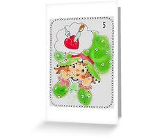 precious wild Greeting Card
