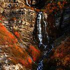 Bridal Veil Falls, Provo Canyon, Autumn by Ryan Houston