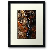 Bridal Veil Falls, Provo Canyon, Autumn Framed Print