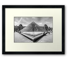 Musee du Louvre, Paris 3 Framed Print