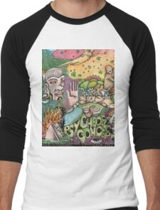 Psychedelic Art  Men's Baseball ¾ T-Shirt