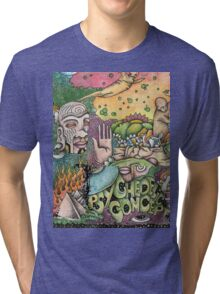 Psychedelic Art  Tri-blend T-Shirt