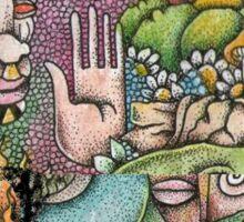 Psychedelic Art  Sticker