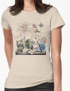 tibet Womens Fitted T-Shirt