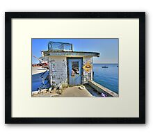 Mooring Launch. Framed Print