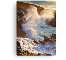 The Blow Hole 2 Canvas Print