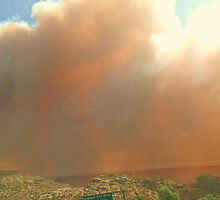 Topanga Burning by AustinAnne