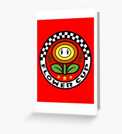 Flower Cup Greeting Card