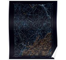 Maine USGS Historical Map Freeport 460410 1892 62500 Inversion Poster