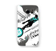 snow ski Samsung Galaxy Case/Skin