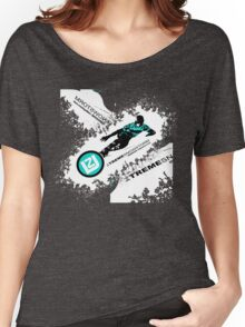 snow ski Women's Relaxed Fit T-Shirt
