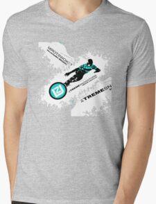 snow ski Mens V-Neck T-Shirt