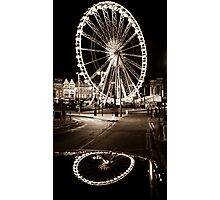Big Wheel Little Wheel Photographic Print