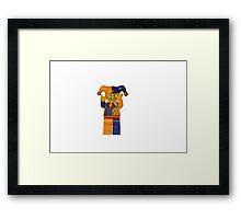 LEGO Jester Framed Print