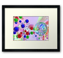 For The Love Of Color Framed Print