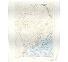 Maine USGS Historical Map Freeport 460411 1892 62500 Poster