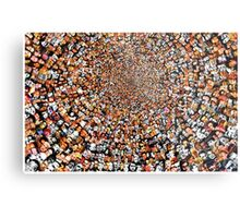 """""""Breaking Bad"""" Edition of """"The Work"""" 3200 Faces Collage. Metal Print"""