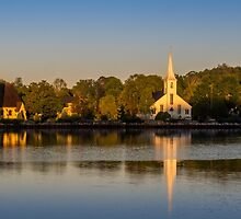 Three Churches by mlphoto