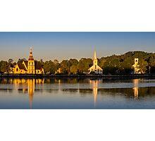 Three Churches Photographic Print
