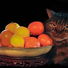 Citrus Cat! by heatherfriedman