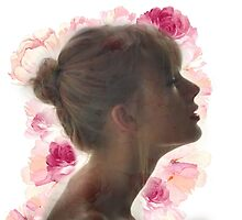 Taylor Swift , flowers by stephaniewoon
