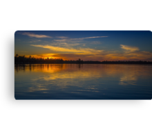 Kejimkujik sunset Canvas Print