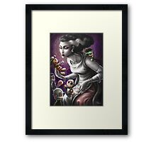 The Bride dollmaking Framed Print