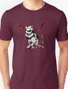 Black Voltron Lion Cubist Unisex T-Shirt