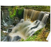 Pendle Water, Roughlee, Lancashire Poster