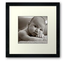 Anthony muscles Framed Print