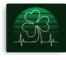 IRISH HEART Canvas Print