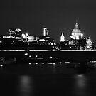 Light Night in Black and White by Devair Pierazzo