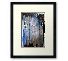 Ragged Door Framed Print