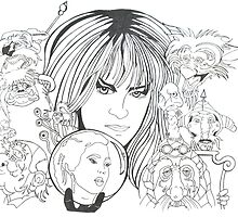 Labyrinth Fan art by Mayers Tanya