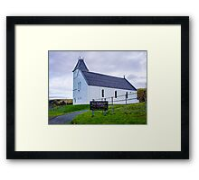 Uig Church Framed Print