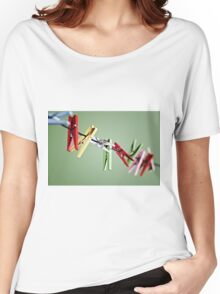 clothes pegs Women's Relaxed Fit T-Shirt