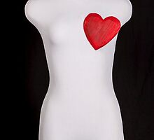 mannequin with a heart by Joana Kruse