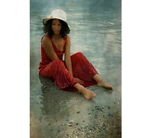 beauty in red Photographic Print
