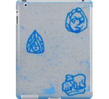 small masks and sheep iPad Case/Skin