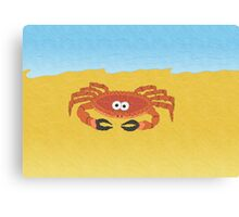 Claudia the Crab! Canvas Print