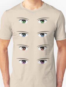 Cartoon male eyes 2 Unisex T-Shirt