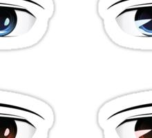Cartoon male eyes 2 Sticker
