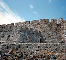 Medieval Castle of Mytilini, Lesbos Island GR (1) by Bentrouvakis