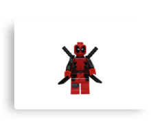 LEGO Deadpool Canvas Print