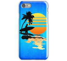 Surfing Sunrise iPhone Case/Skin