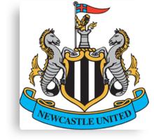 NEWCASTLE UNITED FOOTBALL CLUB Crest Canvas Print