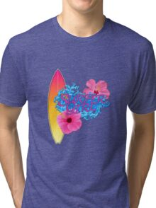 Surfer Girl Tri-blend T-Shirt