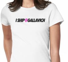 I ship #gallavich - Gallavich - Shameless Womens Fitted T-Shirt