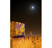 davids castle jerusalem Photographic Print