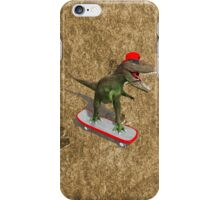 Skateboarding T-Rex iPhone Case/Skin